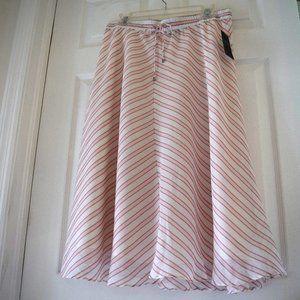 Lauren Ralph Lauren Women's Striped Midi Skirt